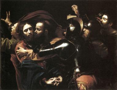 Caravaggio-Cattura-di-Cristo-nellorto